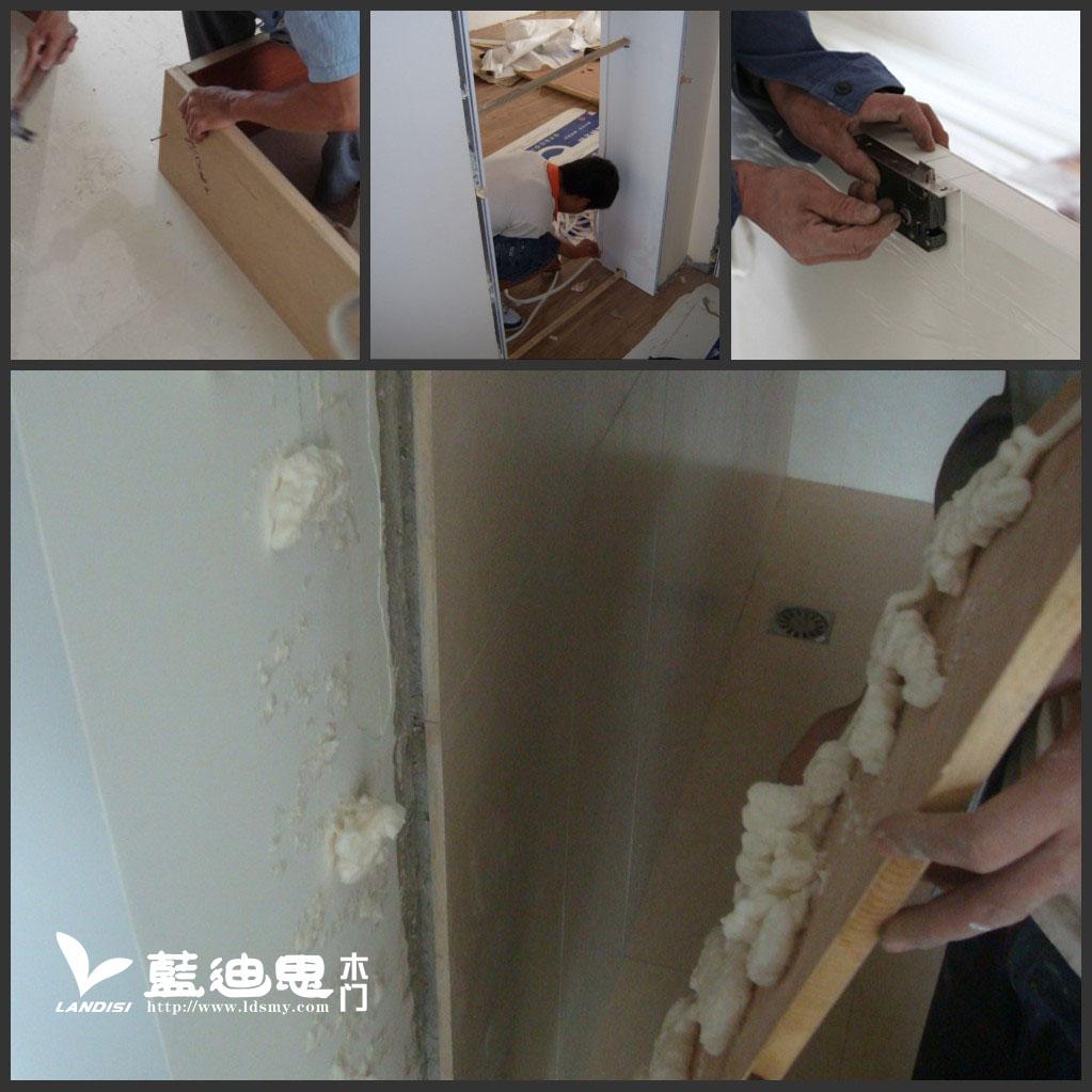 木皮开放烤漆门