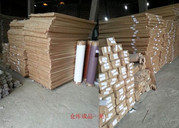 常见烤漆门车间生产内部材料构成及拼装工艺流程
