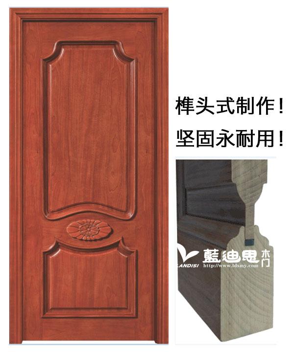 高档扣线实木烤漆门内在填充与外在效果河南厂家工艺