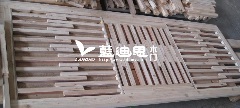 板扣线实木烤漆门内部结构