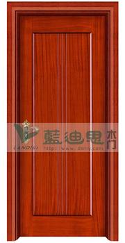 现代穿线流苏设计实木烤漆门