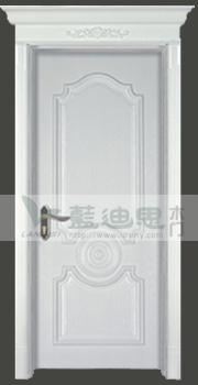 西方时尚设计混油复合烤漆门
