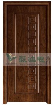 中式风格古典实木复合烤漆门