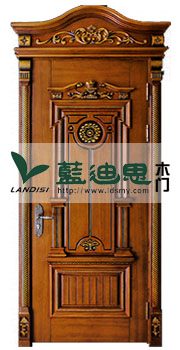 怀旧英式经典仿古实木雕花门,雕花烤漆门厂家,河南郑州保值工艺门厂