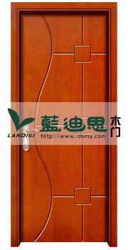 简单设计,平淡木质色彩,漆面柔滑复合烤漆门,河南平板工艺门制造厂家