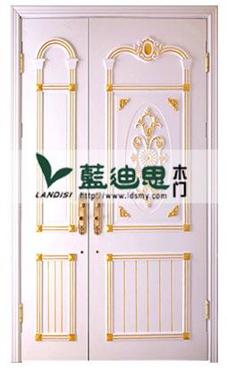 黄金开放雕花漆子母烤漆门,河南门厂特质高价门,美式华丽烤漆门
