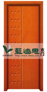 点状现代设计柚木复合烤漆门