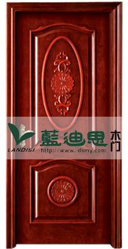 高档大气厚实中式天然红木实木门