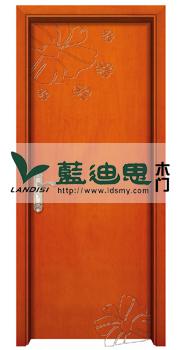蝶恋花时尚现代松木室内婚房套装复合烤漆门