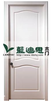 现代年轻后的最爱混油烤漆门 白色混油门