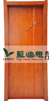 高档酒店扣线实木门 欧式一枝梅套装烤漆门