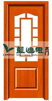 卫生间花格玻璃烤漆门 透光平板复合烤漆门款式