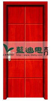 平板鲜艳红实木复合烤漆门 2015推荐畅销烤漆门品牌价格