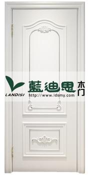 描金白色混油门,高档烤漆门,唯有蓝迪思打造