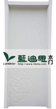 牡丹花混油白烤漆门工程门精品设计 或工程方盛赞定制