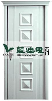 白色扣线开放烤漆门,正方形套装烤漆门,时尚白中档价格