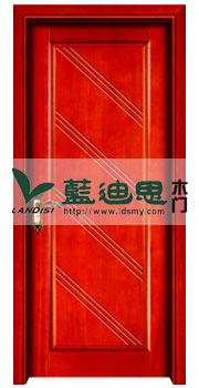 学校现代红杉实木烤漆工程门,河南木门厂家招牌款式