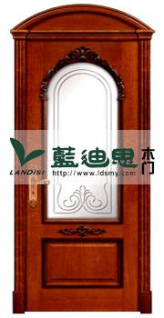 古城半圆实木扣线门,半圆玻璃烤漆实木门价格,款式个性