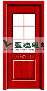室内中空玻璃烤漆门 现代烤漆复合门款式价格