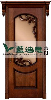 仿古怀旧酒店烤漆门、KTV雕花玻璃门、欧式实木超值价格门
