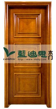 锥形立体扣线实木门,流行代理烤漆实木门款式(颜色)