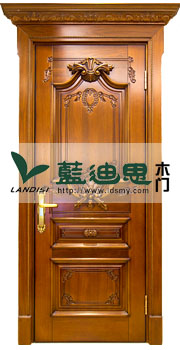 红樱桃实木雕花门,扣线凹凸烤漆门,高档价格高格调档次