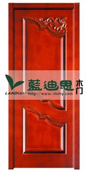门厂专注制造,河南复合烤漆门西洋红双扣雕花(聚美低价)