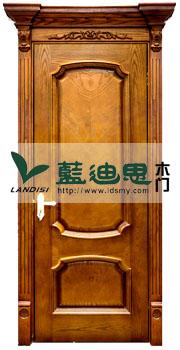 欧式古典酒店隔音实木门,专业的工厂生产制造,价格依据工艺定制