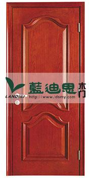 流线波浪扣线烤漆门木皮开放,河南中国红深槽定制厂家价位