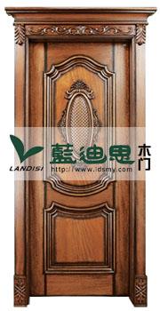 古铜仿古实木门/暖色深槽浮雕花,高昂价格厚重品质制造工厂