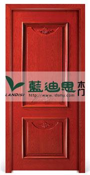 双排精致雕花复合烤漆门&中国红深槽工厂生产(河南知底成本价)