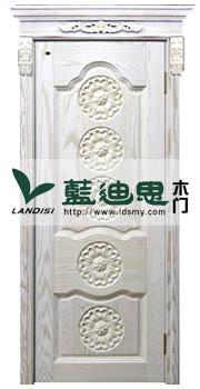 白橡混油高档河南烤漆门工艺,新颖技术提供雕花烤漆门厂家