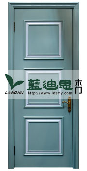 熟男熟女公寓门,极简主义墨绿实木烤漆门,河南平板清雅烤漆门打造