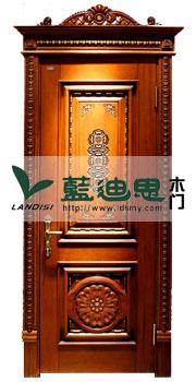 高档欧式浮雕烤漆实木门,装板拼接河南仿古实木门美赞厂家制造,权威招商