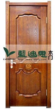 寒木春华欧式雕花实木烤漆门,河南门厂家弥留出新改换环境打造品味