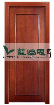 黄花梨扣线仿古实木门,橡木制造硬朗门板[出厂批发]