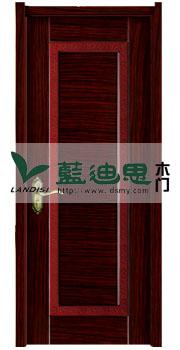 熟褐红贴皮酒店工程门(河南特色门厂)定做销售批发价供货