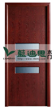 中空通孔复合烤漆门/气色红平新门类款式,河南名气大门厂