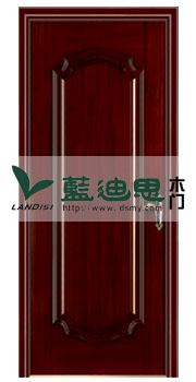 中式风格(木皮实木烤漆门)耐心制造_河南门厂常供货&点赞价口碑
