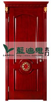 暖金色扣线实木复合烤漆门/深槽核验产品河南洋气品牌