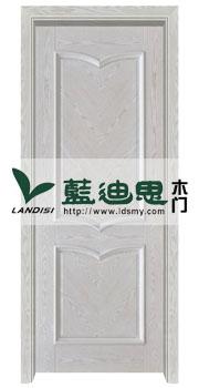 白开放木皮对角雕花烤漆门*多订多销-河南门厂生产不停歇