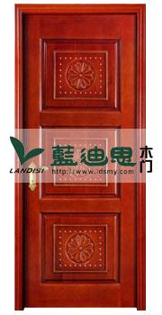 河南三方体镶嵌双线复合烤漆门,平滑好漆色&闪现好木色