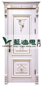 乳白金雕花仿古实木门100%魅惑众生(高配参数)河南厂家生产