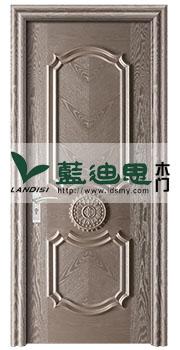 黑白灰办公对开实木烤漆门,扣线工艺河南门厂专属2017年指定大促品牌