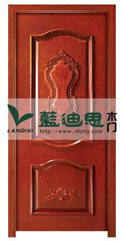 对开厚重实木烤漆门(新添色)绝艺品质,规整尺寸定做河南授权大厂招商