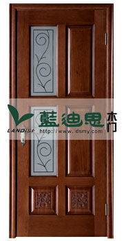 胡桃木古茶色玻璃复合烤漆门-厨卫善用订门-河南厂家出新打造