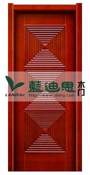 渐变立方体实木复合烤漆门,河南厂家执着打造国产品牌<树立新方向>