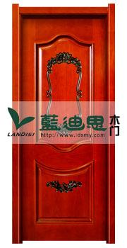 中国洋红传统实木复合烤漆门,艳色标配设计结构<顶尖制造>厂商
