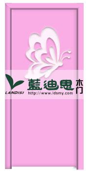 蝴蝶慢慢飞-桃花粉幼儿园工程门,以价取艺,厂家河南独供采购
