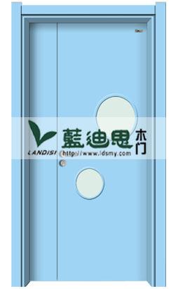 海洋蓝幼儿园实木复合烤漆门,各类订造大量采购批发<价格可算>工艺多样